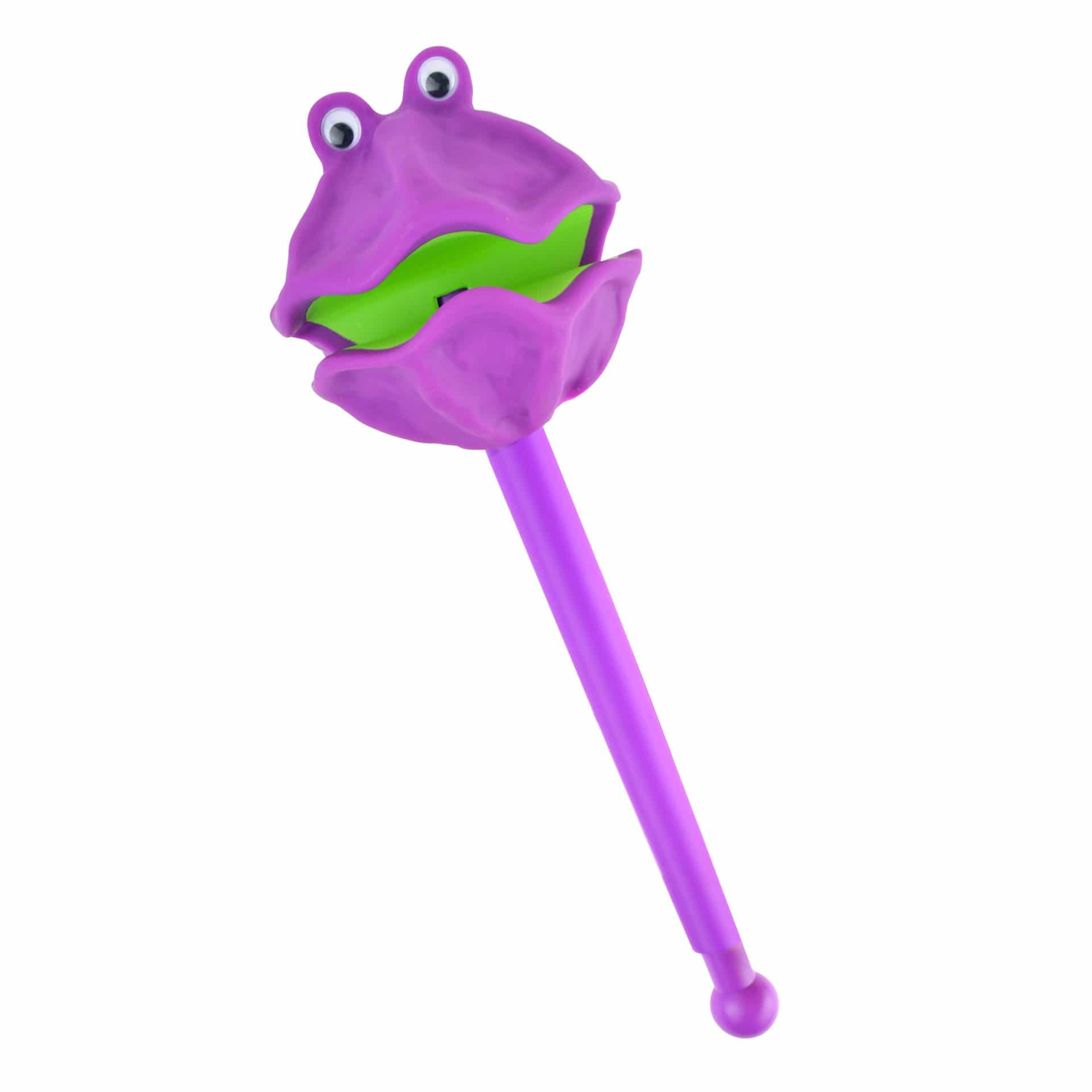 Clam puppet-on-a-stick