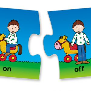 Opposites puzzles develop cognitive skills