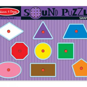 Shapes sound peg puzzle names shapes