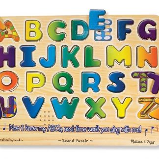 Match puzzle piece to hear letter name
