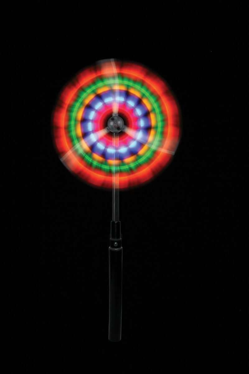 Light show on a stick