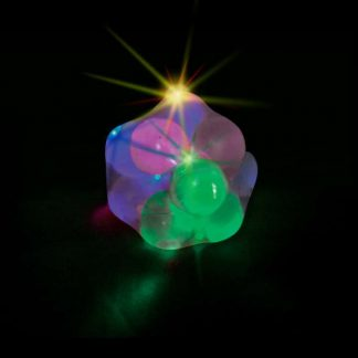Molecule ball lights up when squeezed