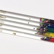Glitter wands promote relaxation