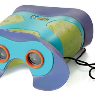 Focus-free 2x magnification binoculars for preschoolers