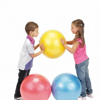 large soft resilient play ball