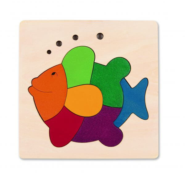 wooden fish puzzle