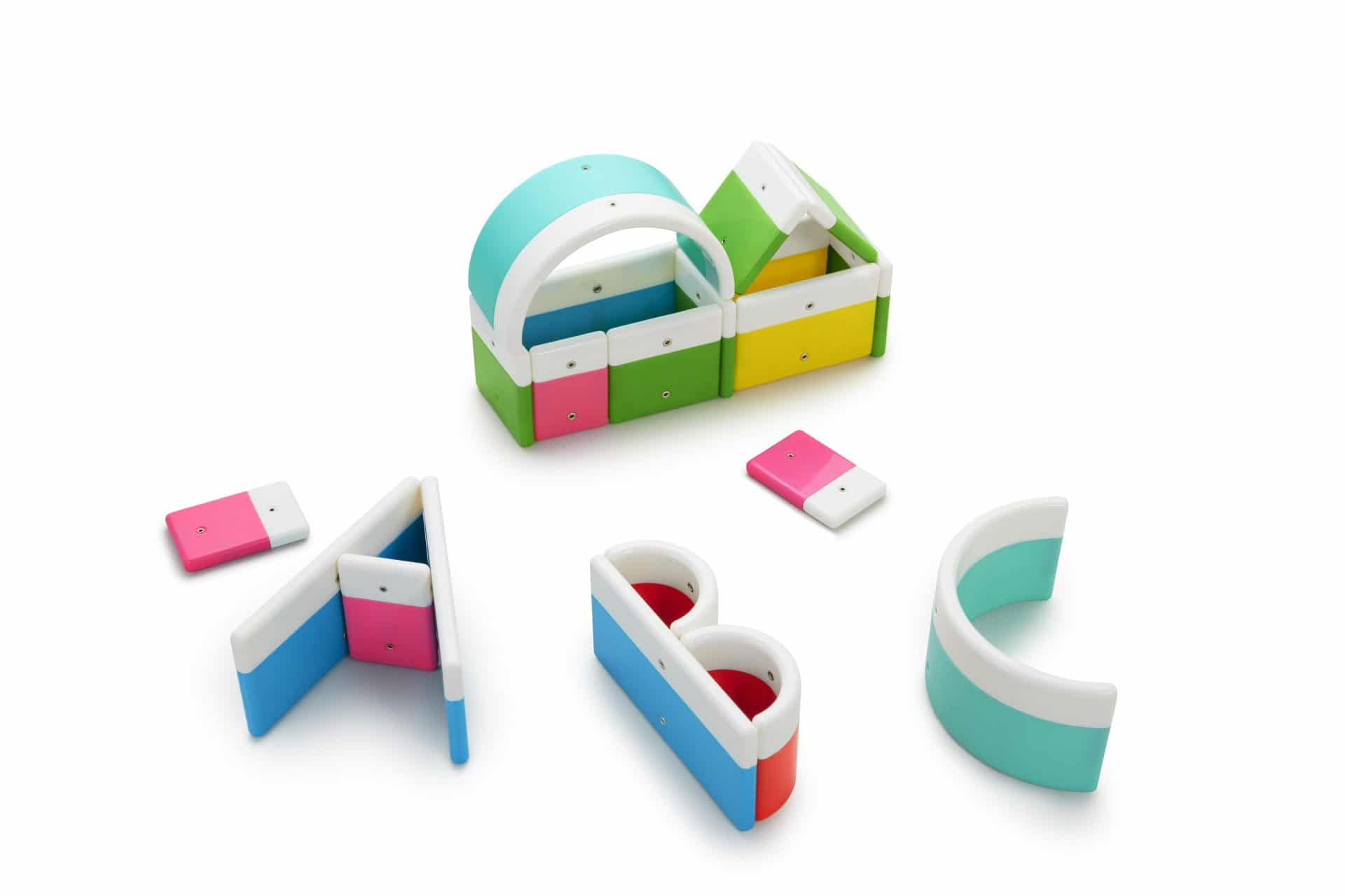 magnetic letter building set