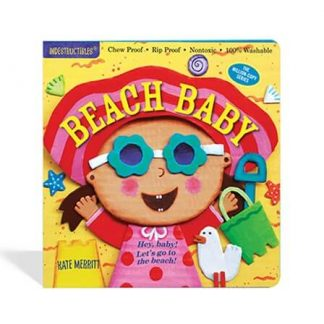 Indestructibles baby at beach picture book