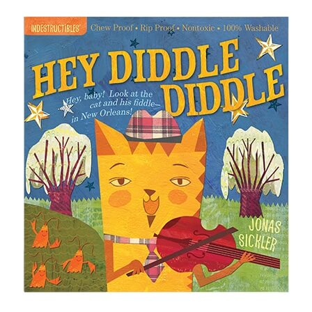 Indestructibles Hey Diddle Diddle picture book