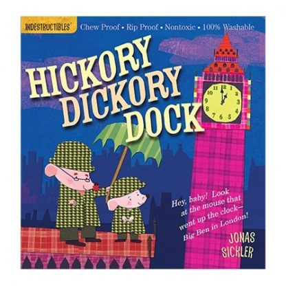Indestructibles Hickory Dickory Dock picture book