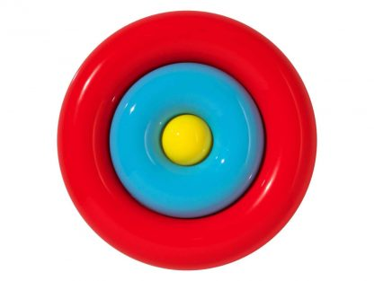 ball and concentric circles for open-ended play