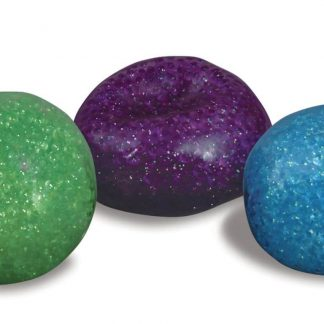 Glitter bead ball relieves stress