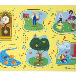 Sing-ALong nursery rhyme peg puzzle