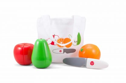 Magnetic cutting fruit with storage bag