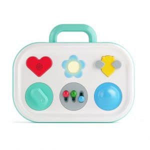 Interactive activity board for babies