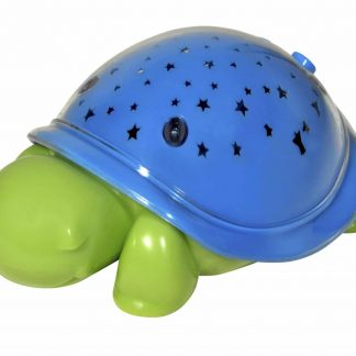 Plastic turtle nightlight projects stars