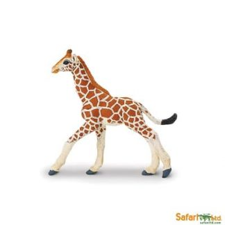 wild animal play figures african reticulated giraffe calf