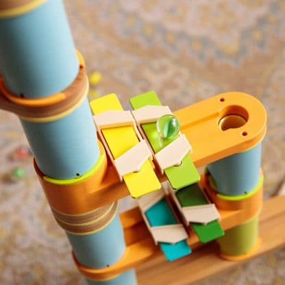 musical note bars on marble run