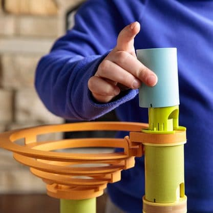 musical marble run detail