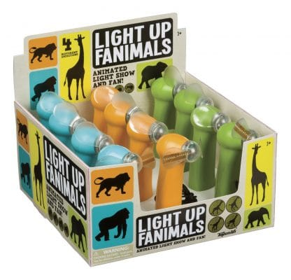 Fanimals light up fans