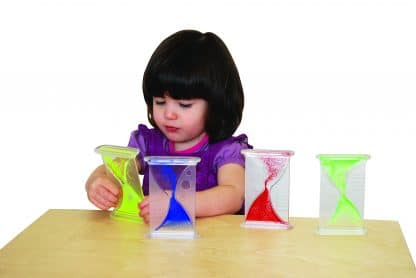 Sensory bubblers in four colors