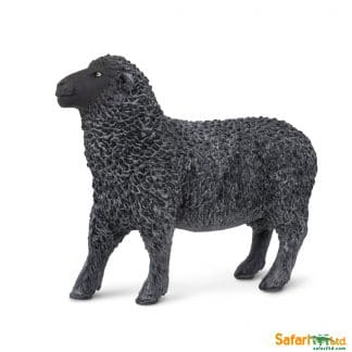 farm animal play figures black sheep toy