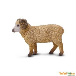Farm Animals Play Figures Ram Toy
