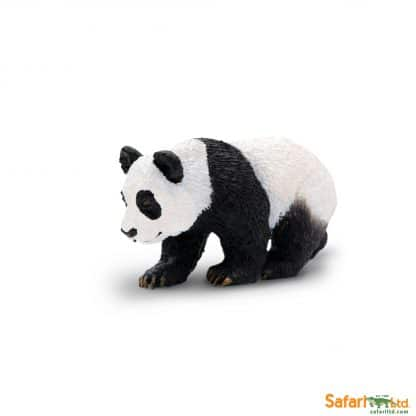 panda cub wild animal play figure