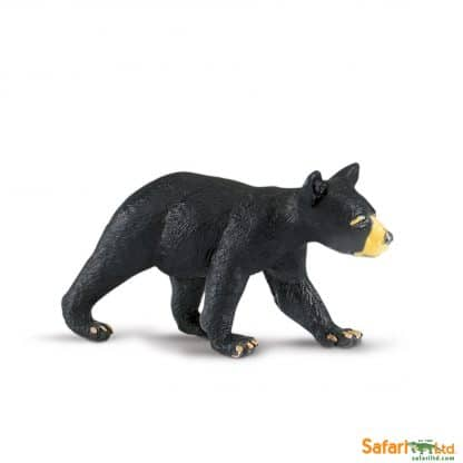 black bear cub wild animal play figure