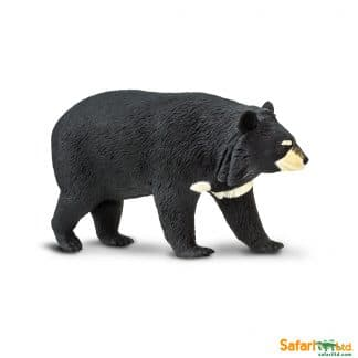 moon bear wild animal play figure