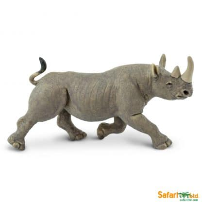 wild animal play figures african black rhino