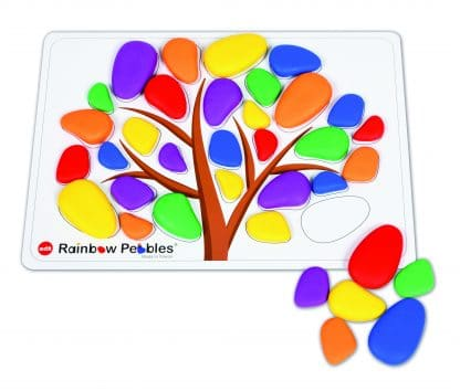 Rainbow Pebbles Activity Set for patterning