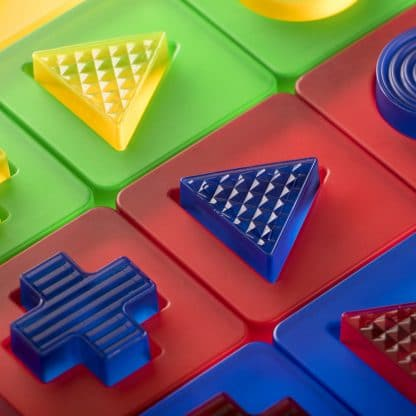 discovery shapes tactile translucent matching shapes