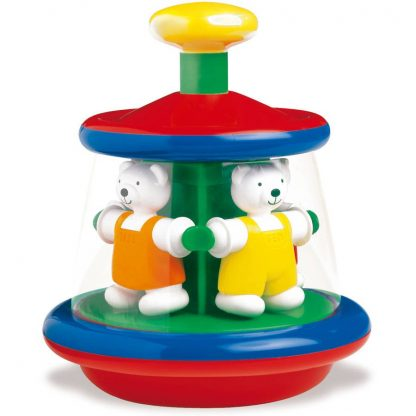 Ambi Carousel spinning toy for toddlers
