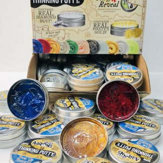 Crazy Aaron's Treasure Surprisemini tins of thinking putty