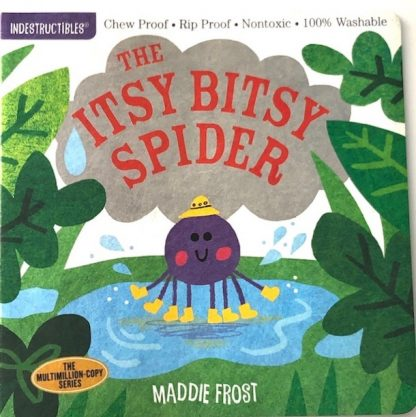 Itsy Bitsy Spider Indestructibles baby book