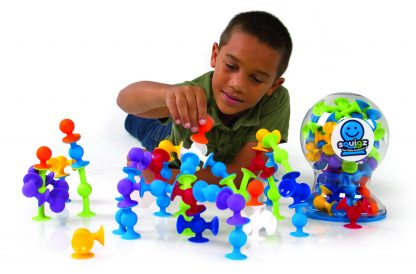 Squigz silicone suction cup building pieces
