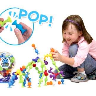 Squigz silicon suction cup building pieces