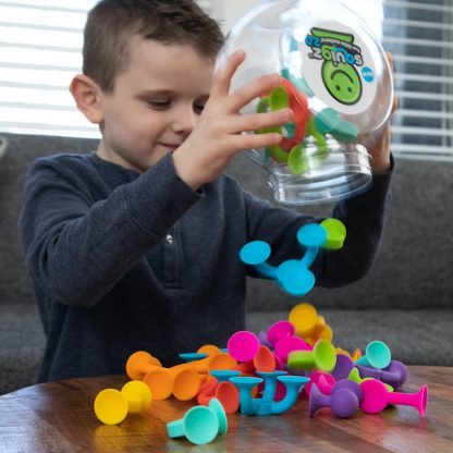 Squigz 2.0 suction cup construction toy