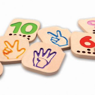 Sign Language Number Tiles for exploring numbers